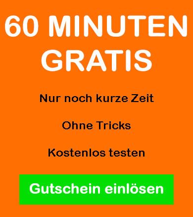 Gutschein für 60 Minuten gratis im Sexcam Chat