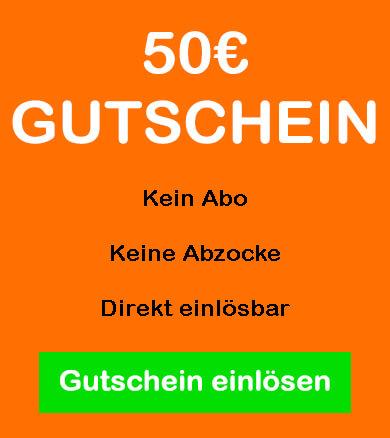 Gutschein für 50€ Sexcam Guthaben